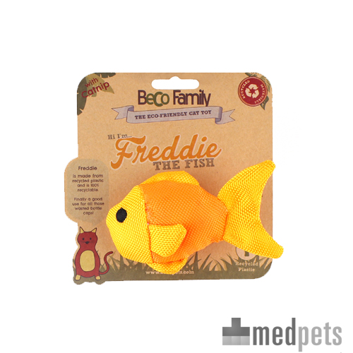 Beco Family for Cats Catnip Toys - Freddie the Fish