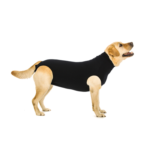 Suitical Recovery Suit Hund - Schwarz