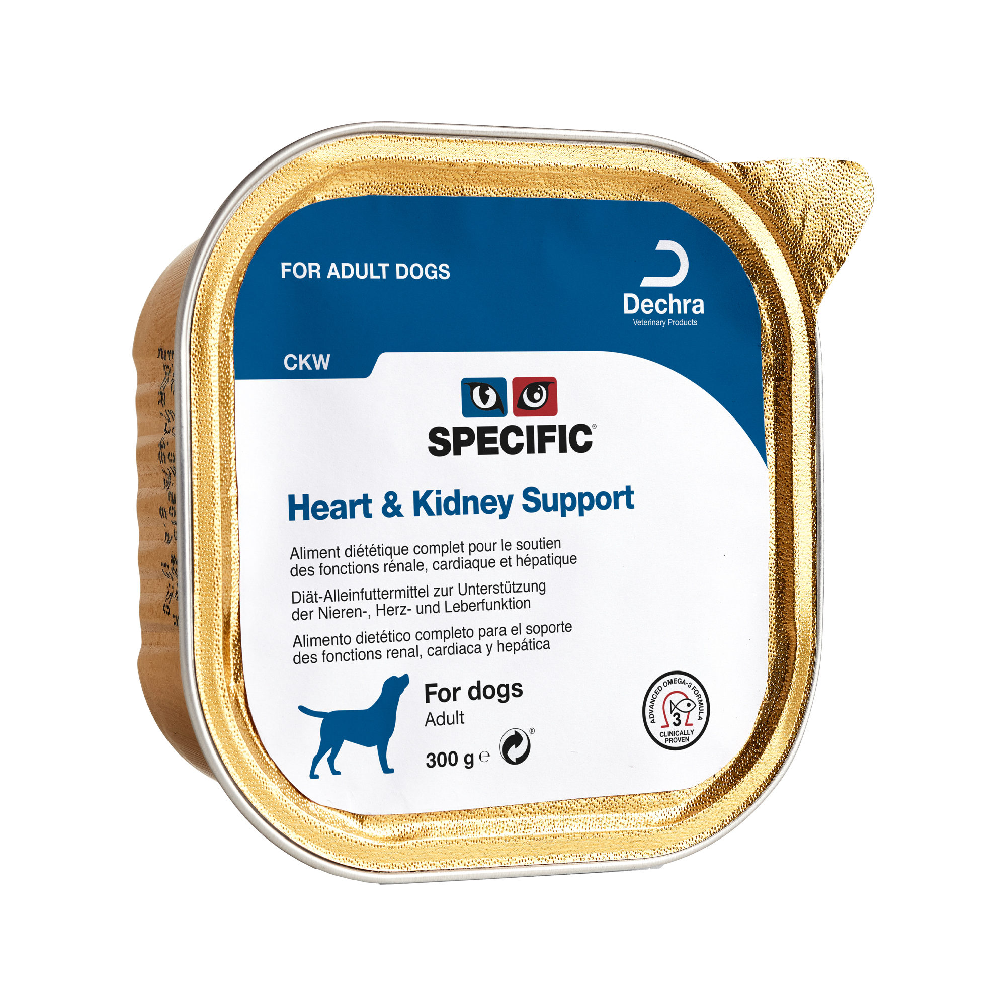 SPECIFIC Heart & Kidney Support CKW Hundefutter - Schälchen