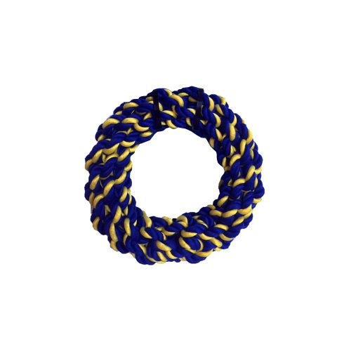 Petsport Braided Cotton Rope Ring