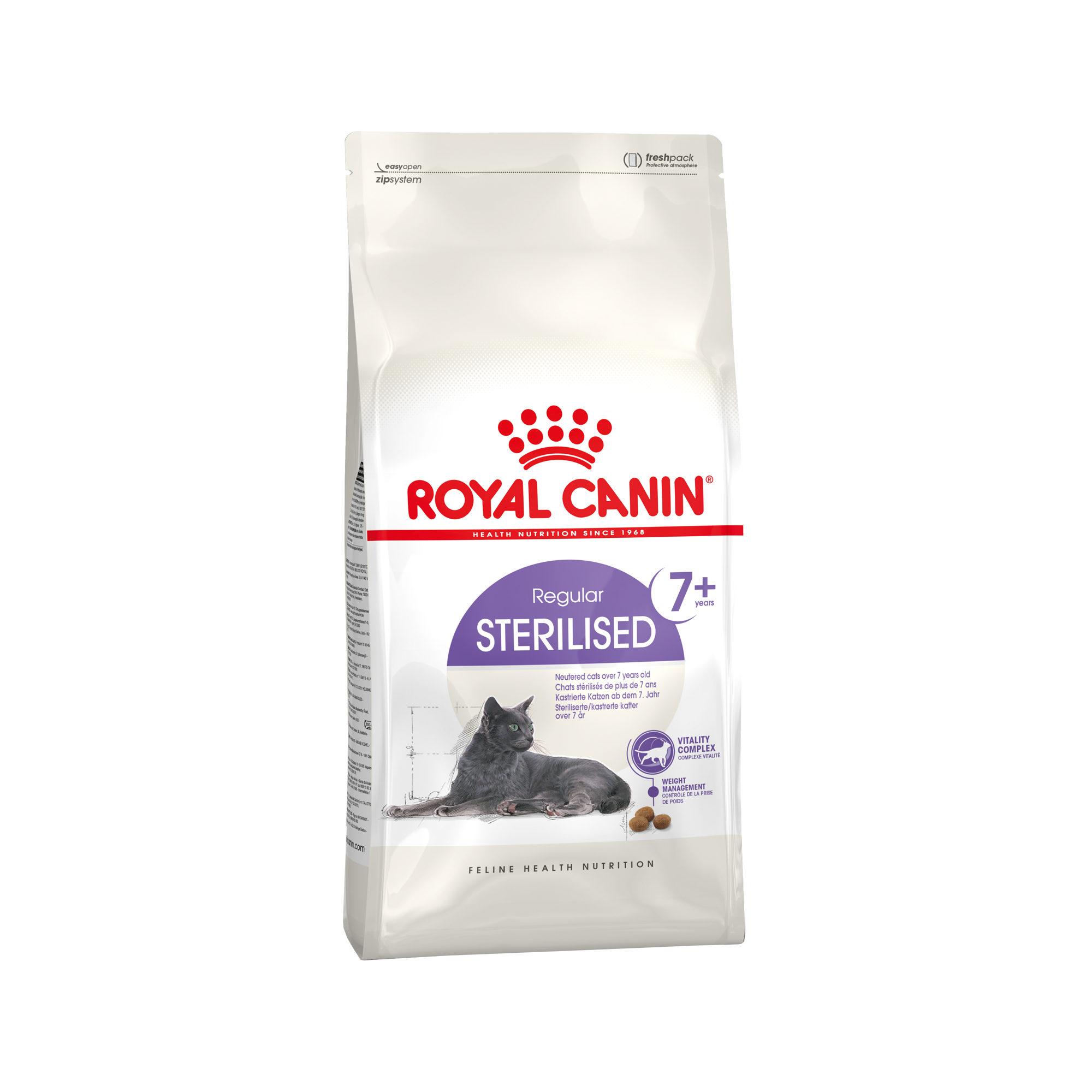 Royal Canin Sterilised 7+ Katzenfutter
