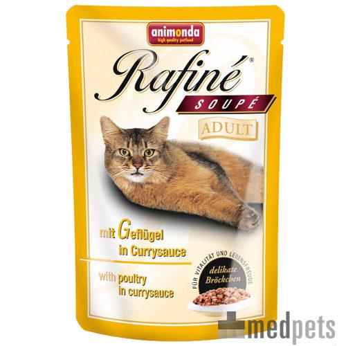Animonda Rafiné Soupé Adult Katzenfutter - Frischebeutel - Geflügel in Cremesauce