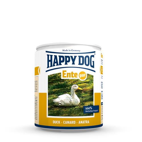 Happy Dog Ente Pur Hundefutter - Dosen