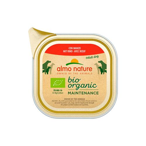 Almo Nature Bio Organic Maintenance Hundefutter - Schälchen - Rind