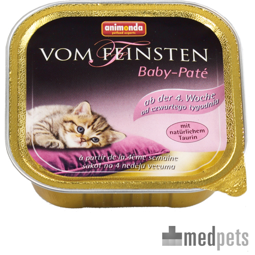 Animonda Vom Feinsten Baby Pate Katzenfutter - Schälchen