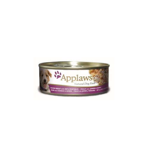 Applaws Hundefutter - Dosen - Chicken & Ham with Vegetables