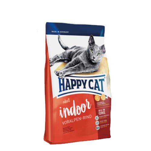 Happy Cat Adult Indoor Katzenfutter - Voralpen-Rind