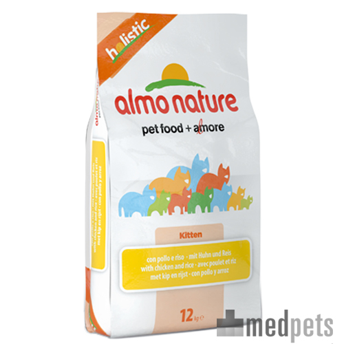 Almo Nature Holistic Kittenfutter - Huhn & Reis