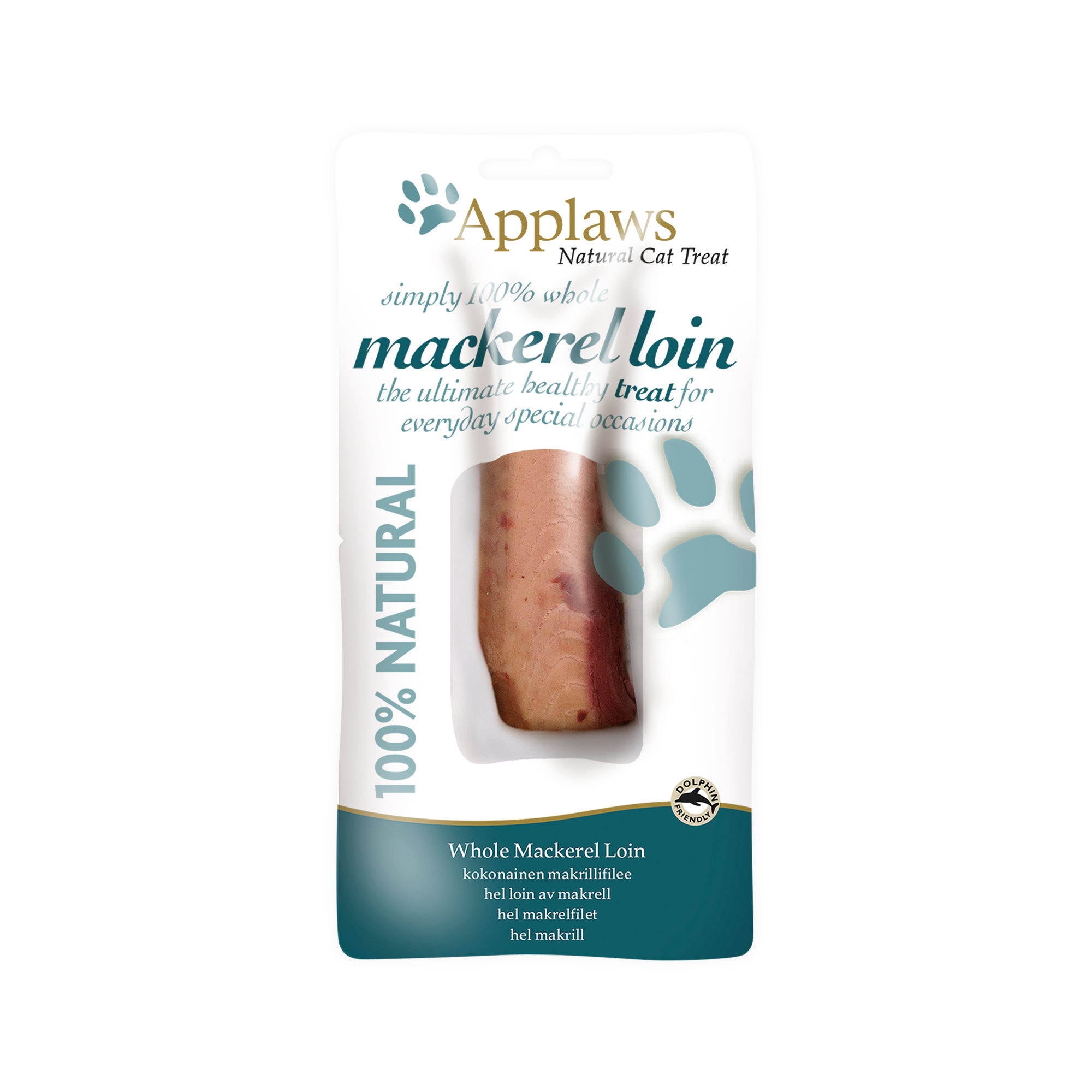 Applaws Mackerel Loin - 12 x 30 g