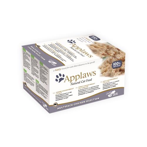 Applaws Multipack Katzenfutter - Frischebeutel - Chicken Selection