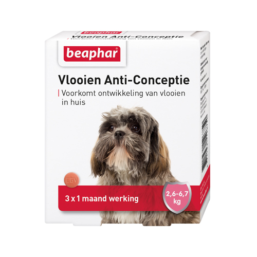 Beaphar Flohschutz für Hunde - 2,6 - 6,7 kg