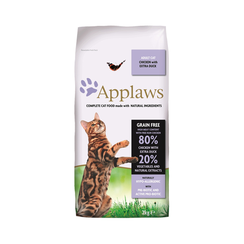 Applaws Adult Katzenfutter - Huhn & Ente