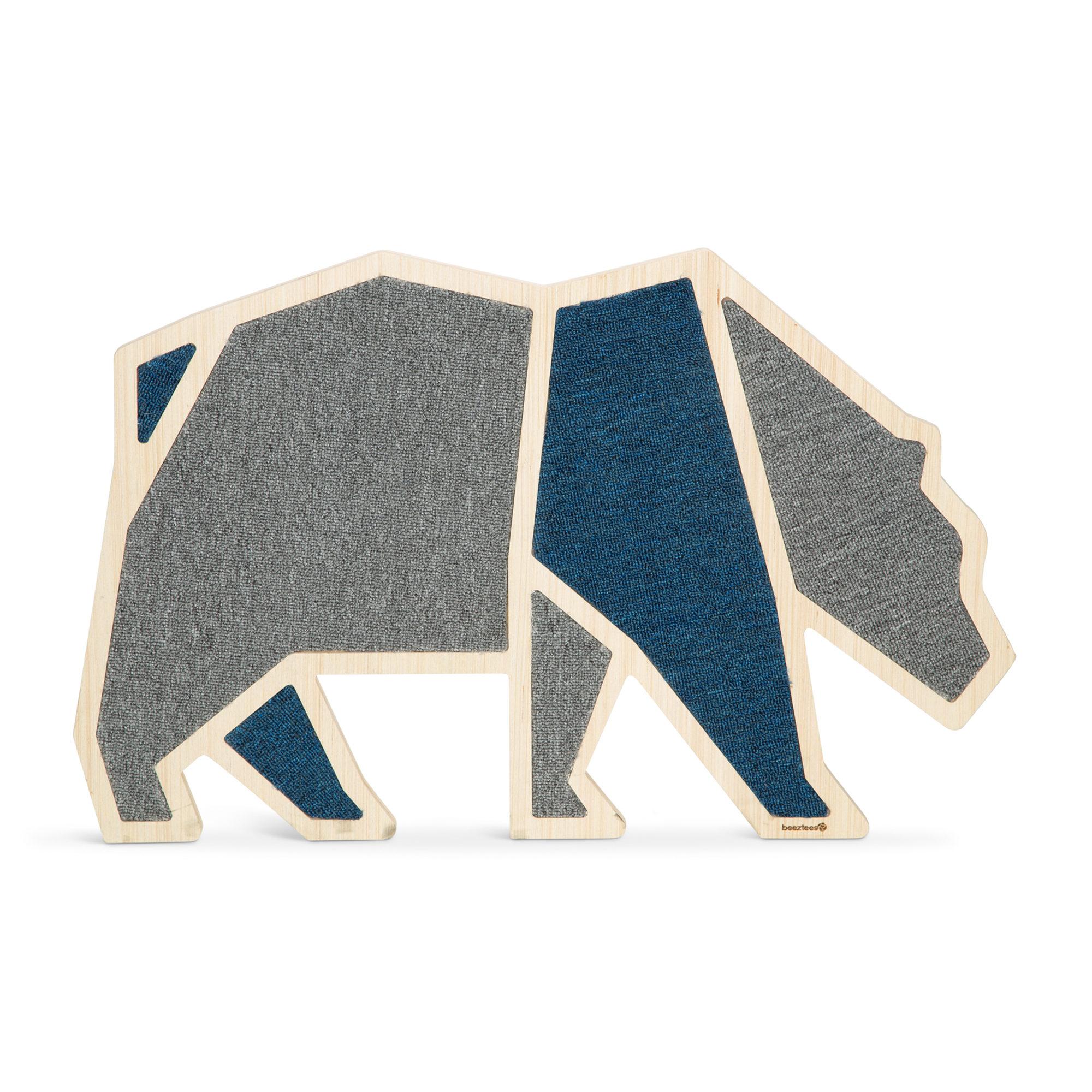 Beeztees Holz-Kratzbrett Blue Bear