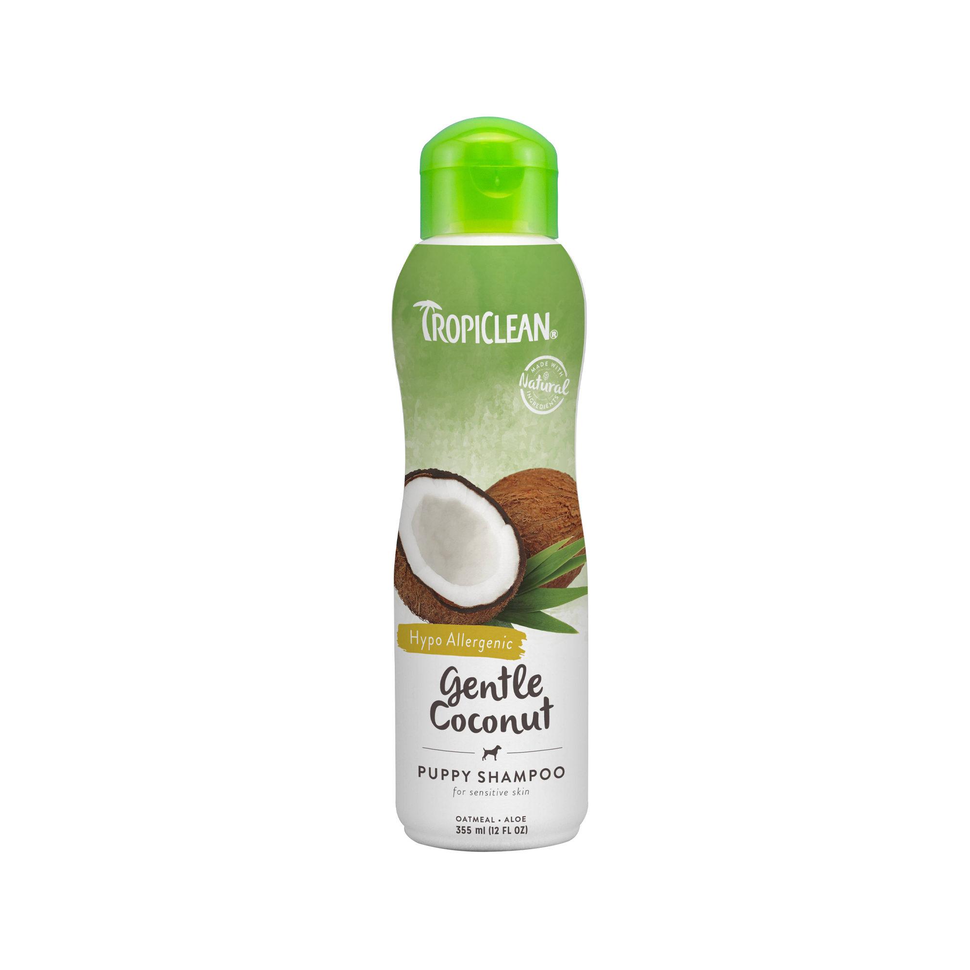 TropiClean Gentle Coconut Shampoo