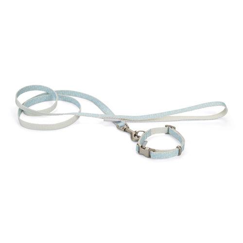 Beeztees Halsband & Leine - Blau