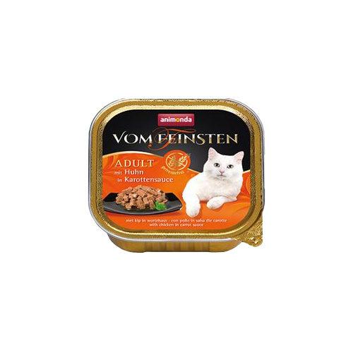 Animonda vom Feinsten Adult getreidefreies Katzenfutter - Schälchen - Huhn