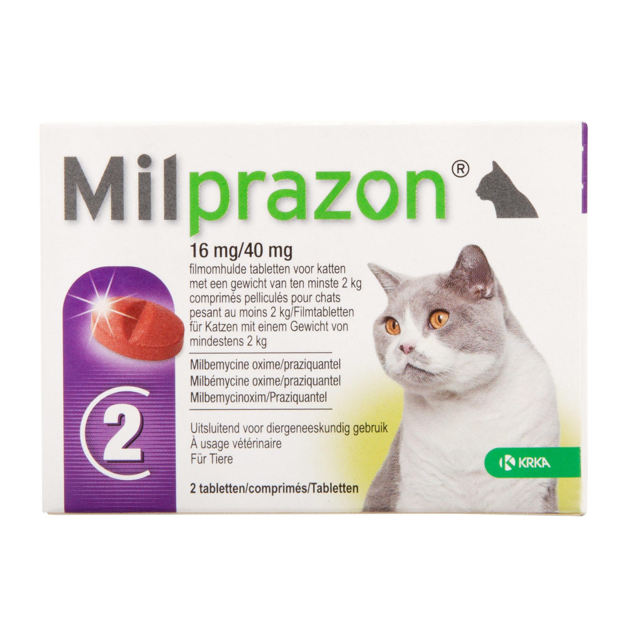 Milprazon - große Katze (16 mg)