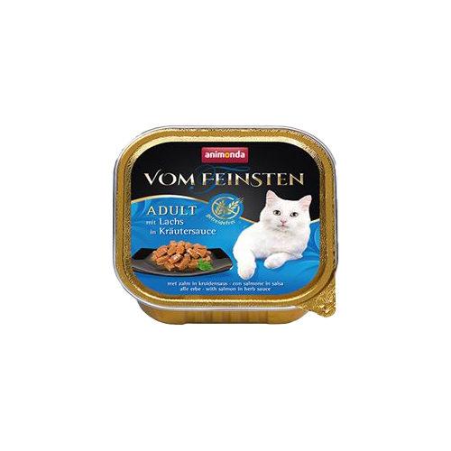 Animonda vom Feinsten Adult getreidefreies Katzenfutter - Schälchen - Lachs