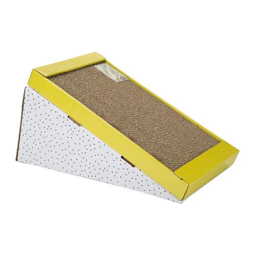 Beeztees Kratzbrett aus Karton Rampino