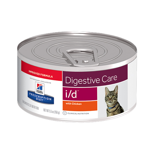 Hill's Prescription Diet i/d Digestive Care Katzenfutter - Dosen - Huhn