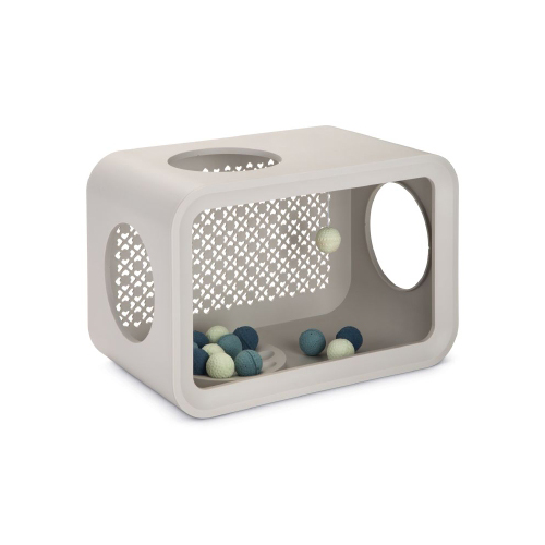 Beeztees Cat Cubes Play - Dune Grey