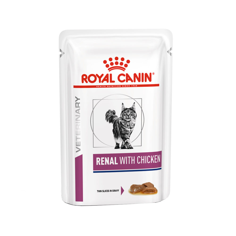 Royal Canin Renal Katzenfutter - Frischebeutel - Huhn