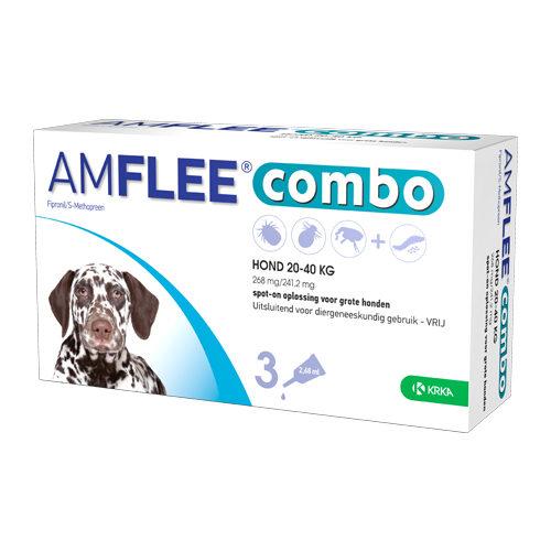 Amflee Combo Spot-on Hund 268 mg - 20 - 40 kg
