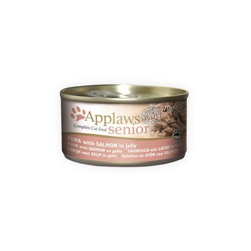 Applaws Senior Katzenfutter - Dosen - Tuna & Salmon