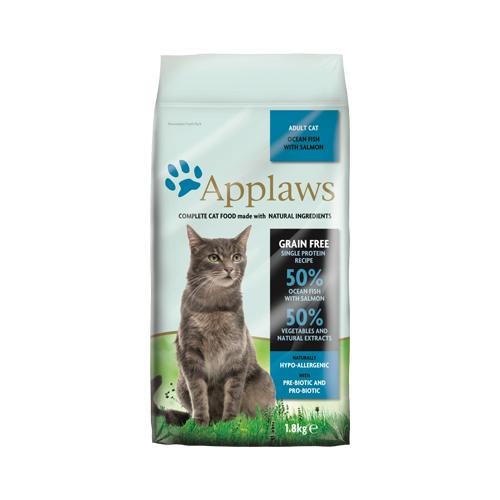Applaws Adult Katzenfutter - Meeresfisch & Lachs - 1,8 kg
