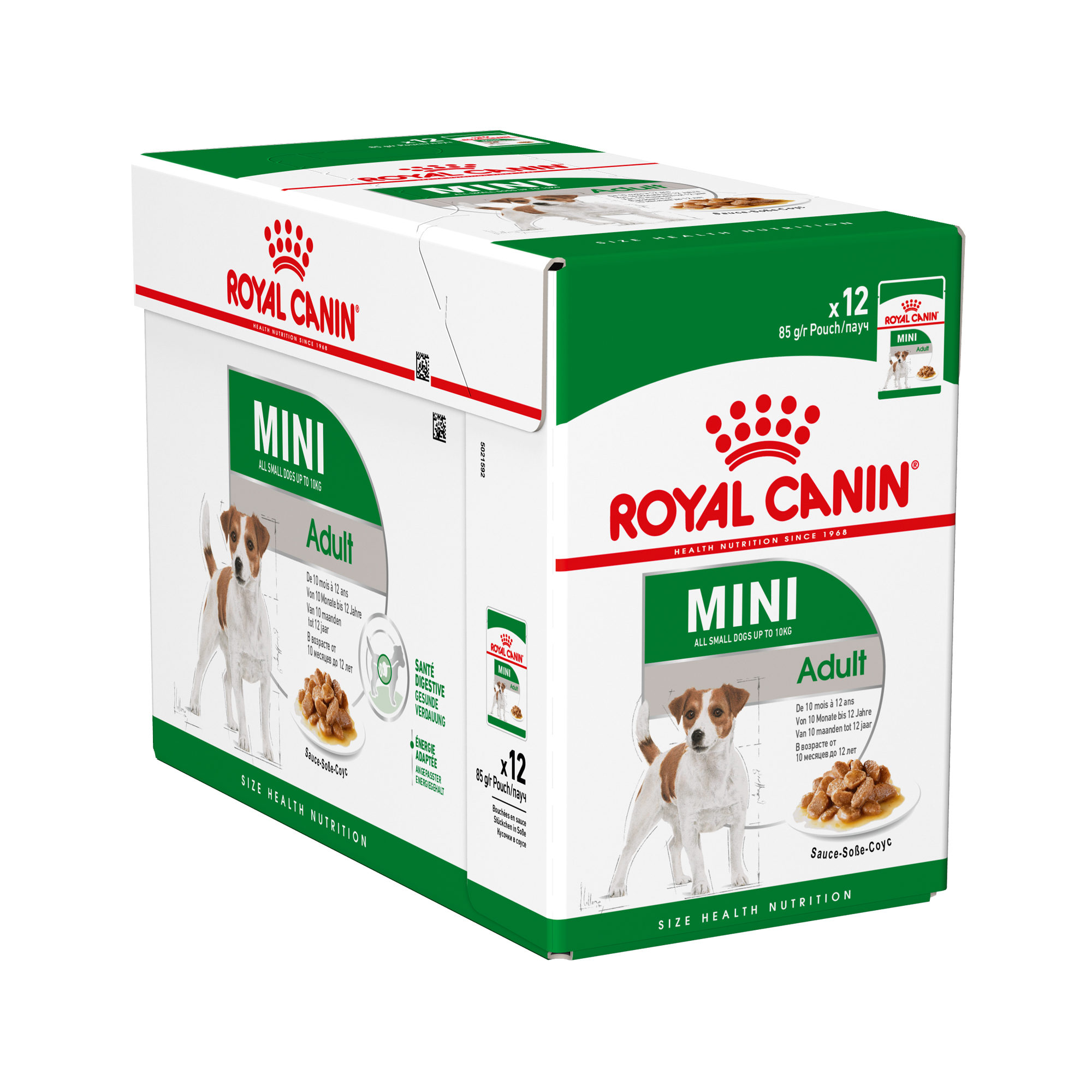 Royal Canin Mini Adult Hundefutter - Frischebeutel