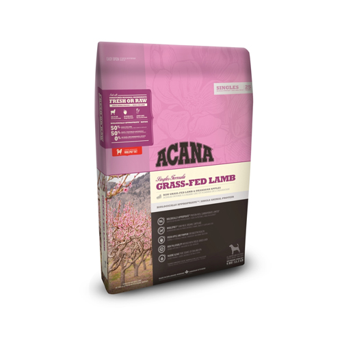 ACANA Singles Hundefutter - Grass-fed Lamb & Okanagan Apple