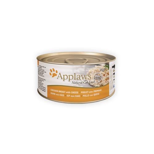 Applaws Katzenfutter - Dosen - Chicken Breast & Cheese