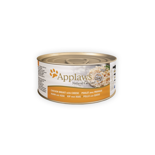 Applaws Katzenfutter - Dosen - Chicken Breast & Cheese