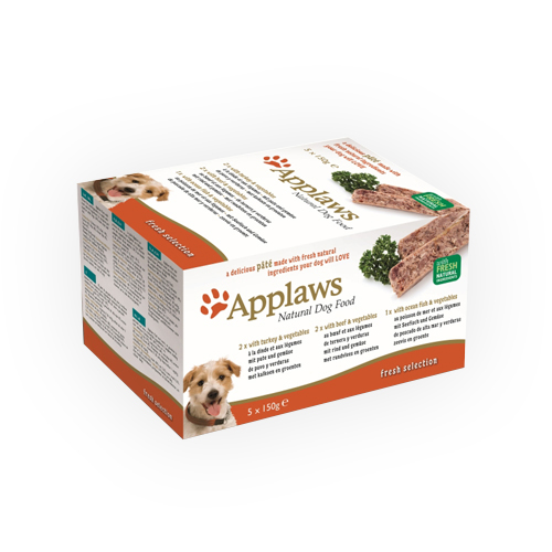 Applaws Hundefutter Fresh Selection - Schälchen - Multipack