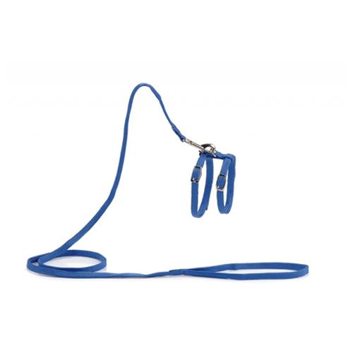 Beeztees Nylon Katzengeschirr - Blau