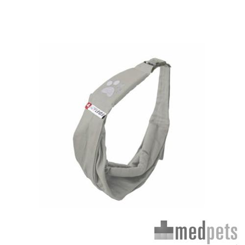 4lazylegs Hundetragebeutel Pocket Canvas - Grau - Standard