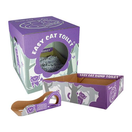 Wooper Easy Cat Einweg Katzenklo Paket