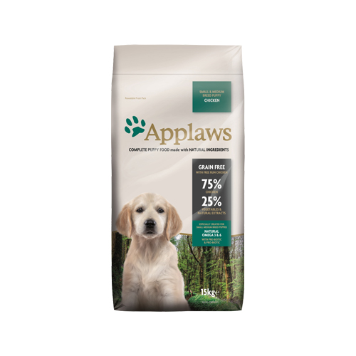 Applaws Puppy Small & Medium Hundefutter - Huhn