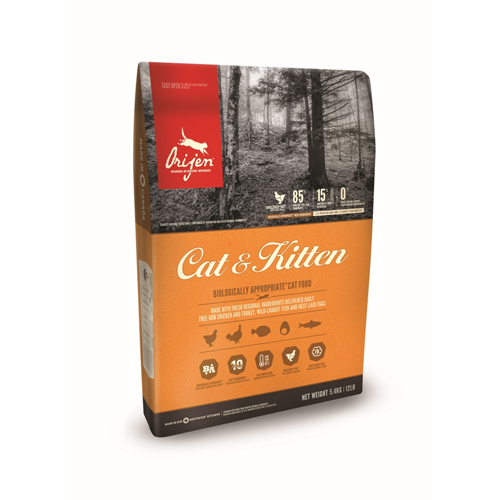 Orijen Cat & Kitten Whole Prey Katzenfutter