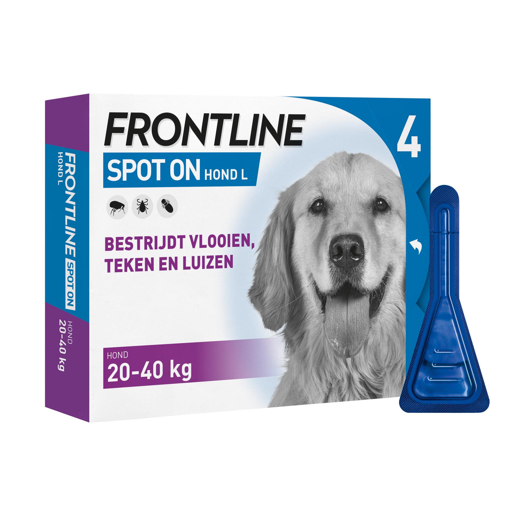 Frontline Spot On Hund L - 20 - 40 kg