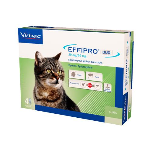 Effipro DUO Spot-on für Katzen - bis zu 6 kg