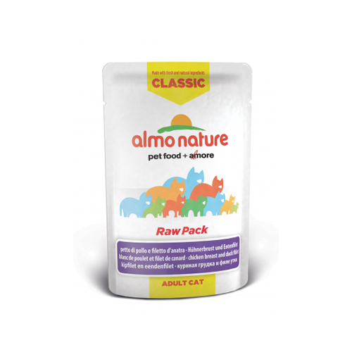 Almo Nature HFC Raw Pack Hundefutter - Frischebeutel - Hühnerfilet