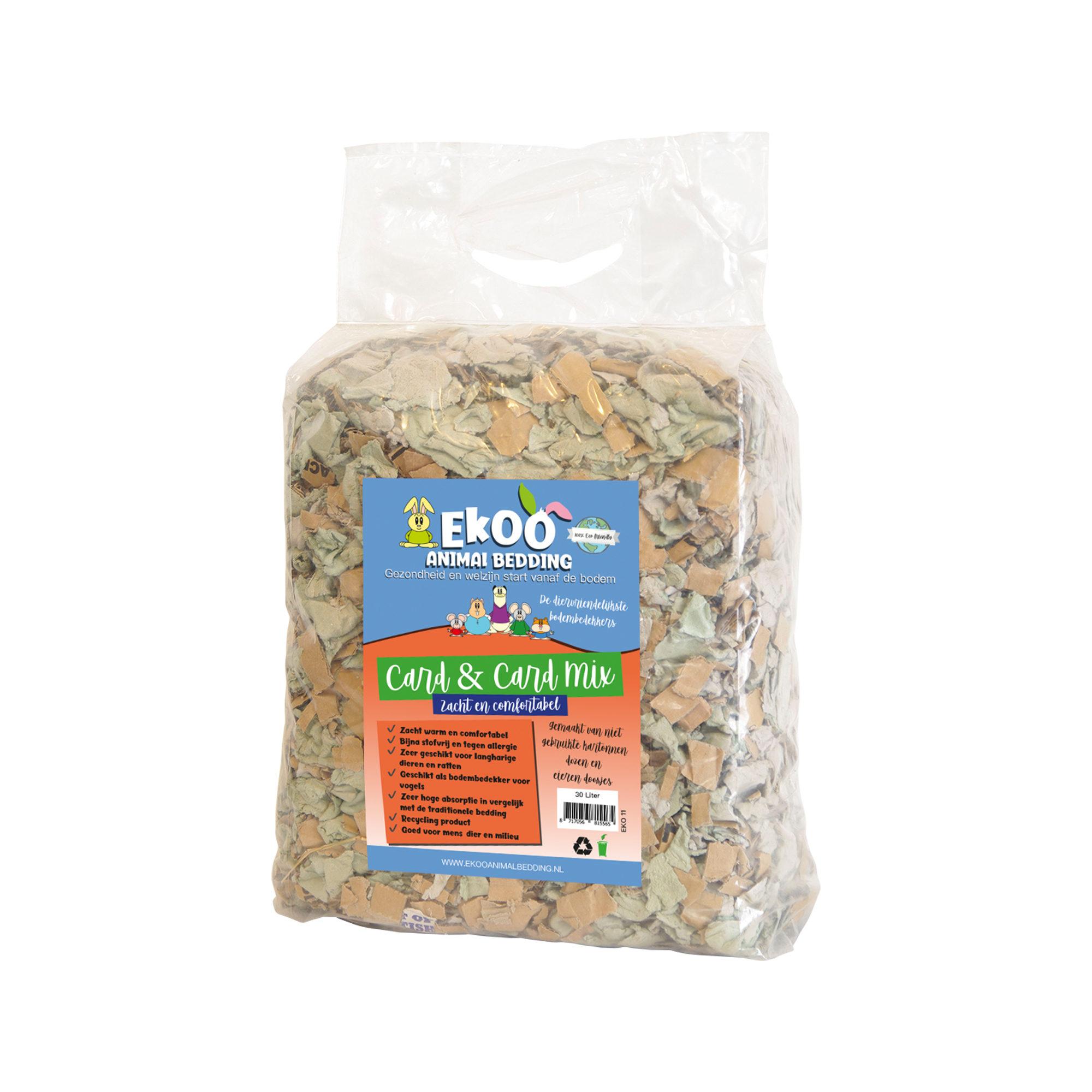 Ekoo Animal Bedding Card & Card Mix