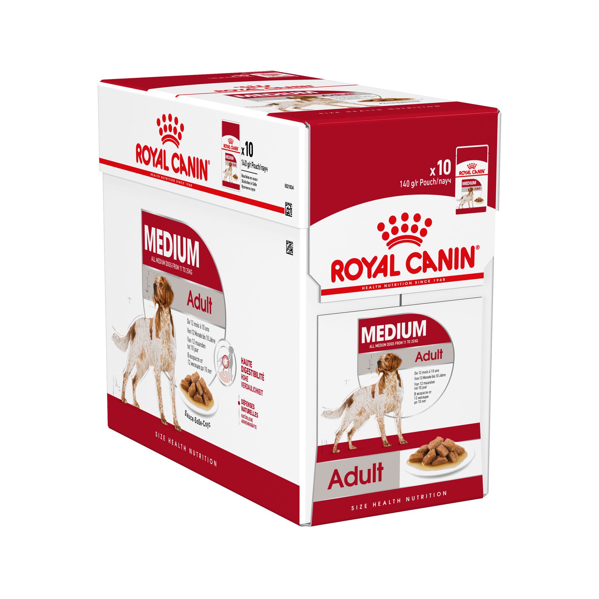 Royal Canin Medium Adult Hundefutter - Frischebeutel