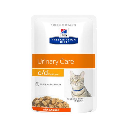 Hill's Prescription Diet c/d Multicare Katzenfutter - Frischebeutel - Huhn