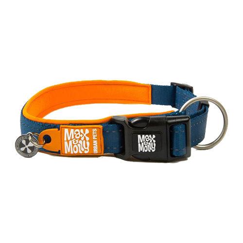 Max & Molly Smart ID Halsband - Orange