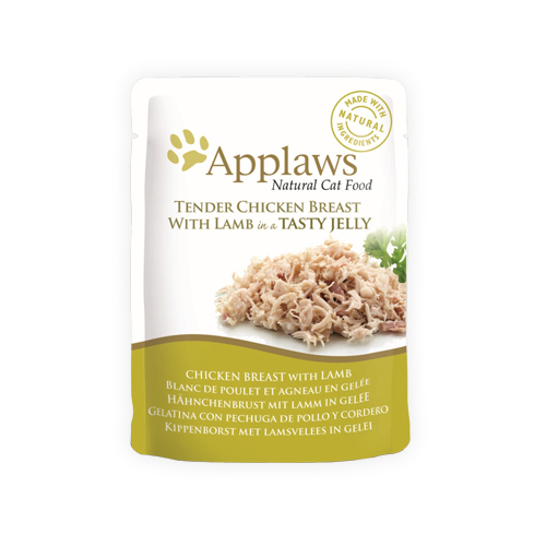 Applaws in Jelly Katzenfutter - Frischebeutel - Chicken Breast & Lamb