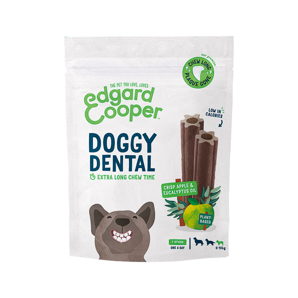 Edgard & Cooper Doggy Dental Small - Apfel & Eukalyptus
