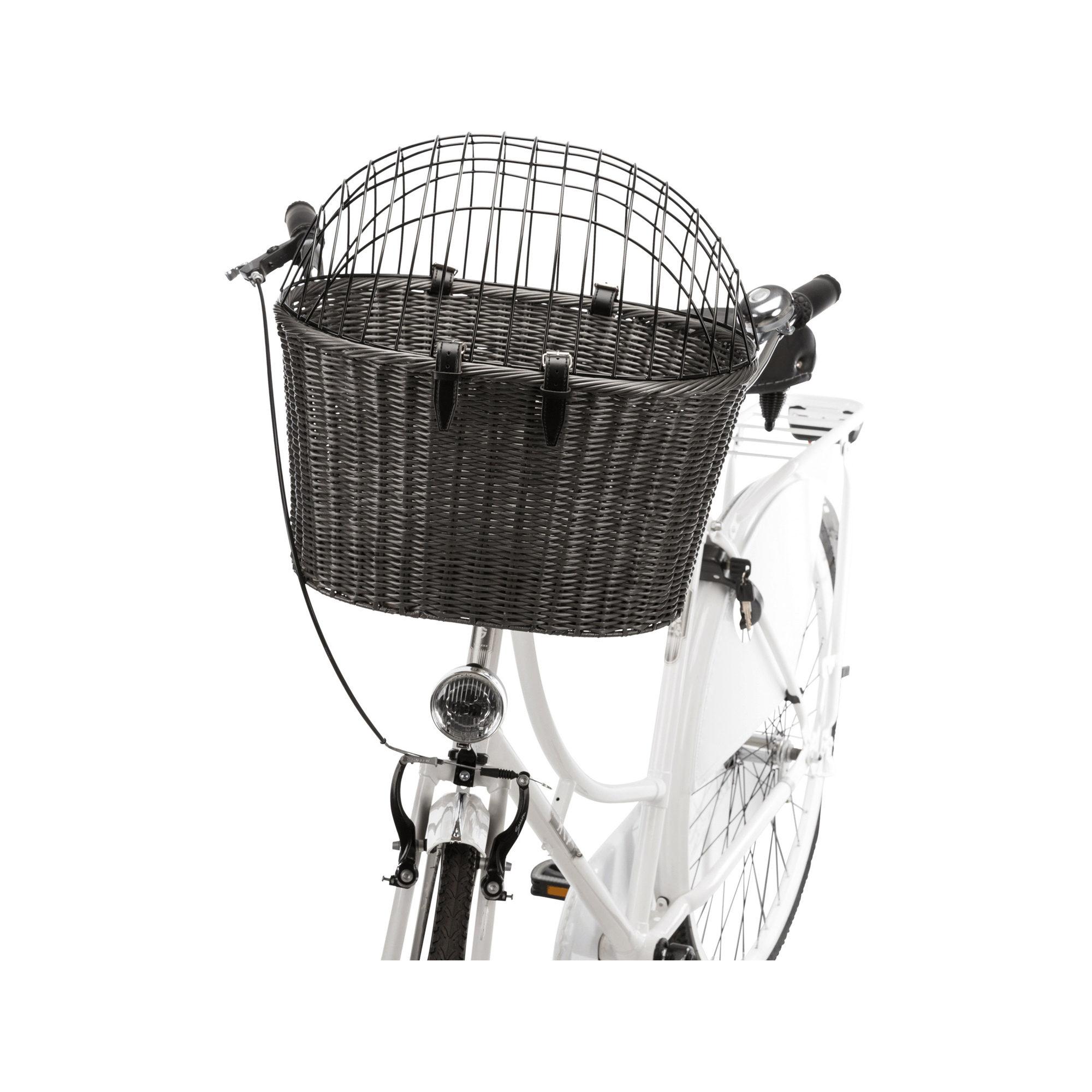 Trixie Hundefahrradkorb Rattan