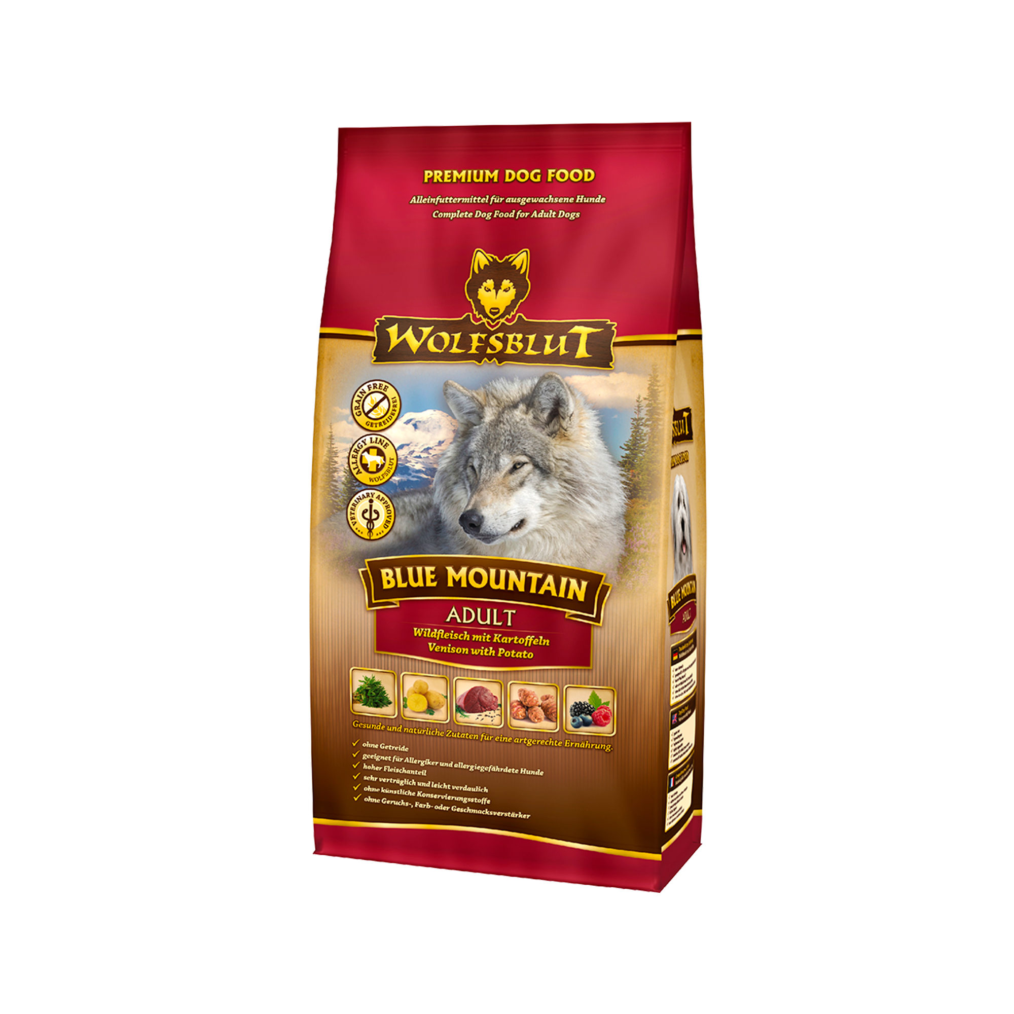 Wolfsblut Blue Mountain Adult Hundefutter